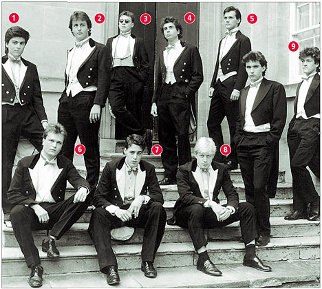 David Cameron Bullingdon Club