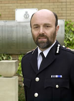 Avon and Somerset Chief Constable Steve Pilkington