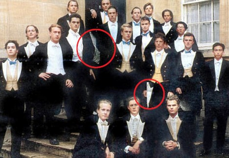 The Bullingdon Club photoshopped