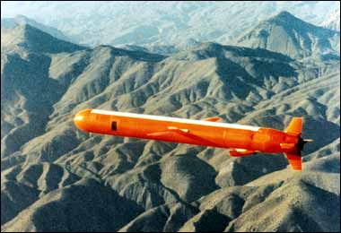 EMP nuclear bomb cruise missile