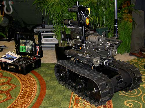 the US military's robot Dalek in your living room